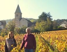 """""""Musique au Chambertin""""  Promenades en Pinot 2018 à FIXIN avec Denis Berthaut ( Domaine Berthaut-Gerbet)"""