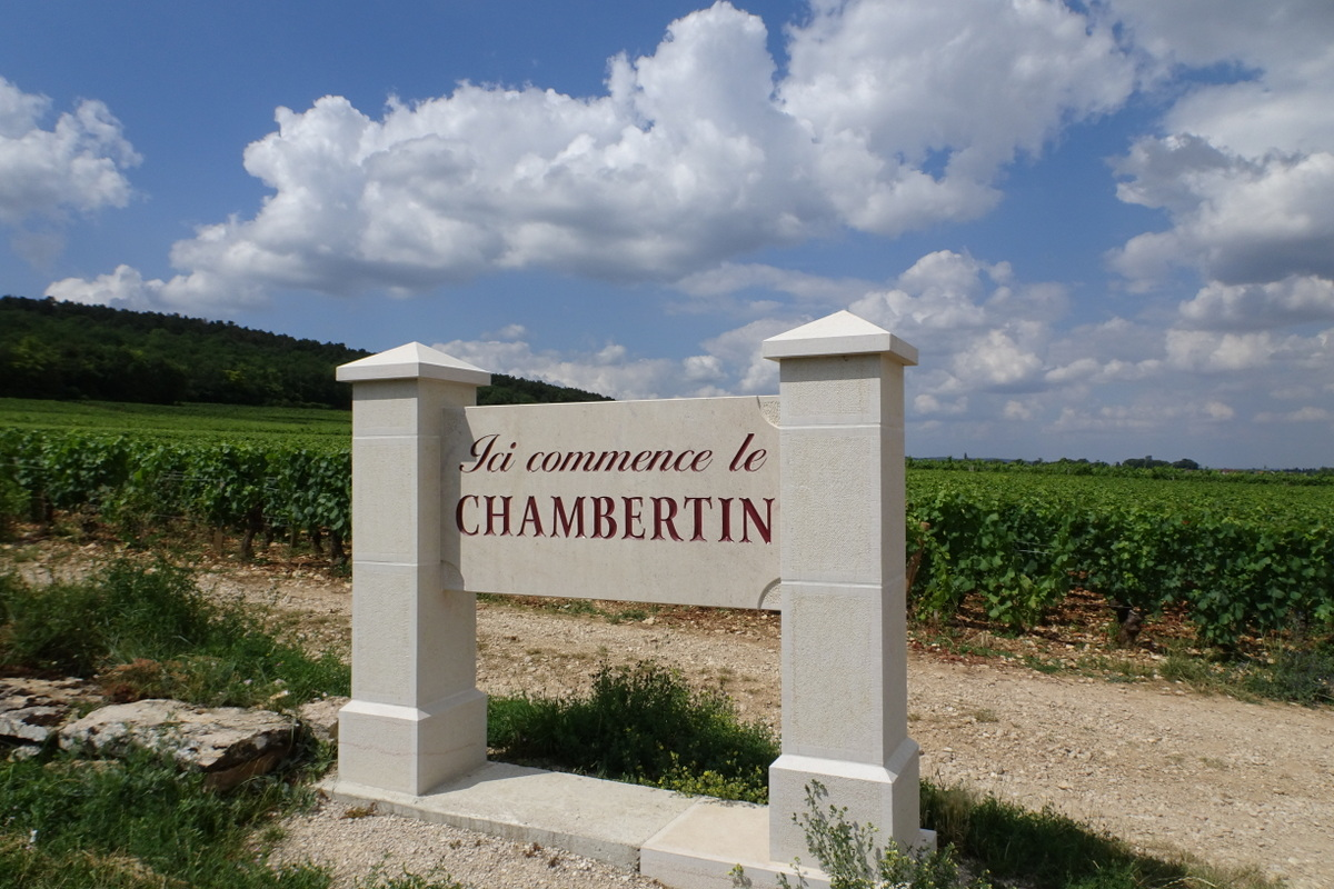 Ici commence le CHAMBERTIN