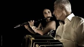 """Nathalie GROUET, flûte et Juan Jose MOSSALINI, bandonéon """"Une Nuit à Buenos Aires"""" Concert du samedi 29 septembre 2018 20h Chât"""